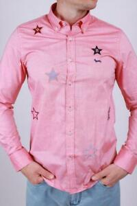 Brand New Harmont & Blaine Pink Men's Shirt Size XXL