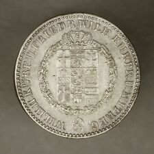 Hesse Cassel (Germany) 1835 1/6 Thaler XF old light clean