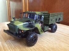 Ural 43206  camo military truck 1:43 USSR car 1/43 model