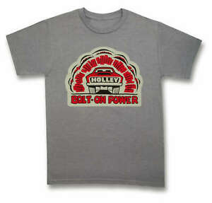 Holley 10165-SMHOL Holley Bolt-On Power T-Shirt