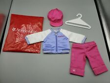 "American Girl Innerstar U Varsity Jacket My AG / Hat Pants - for 18"" Dolls"