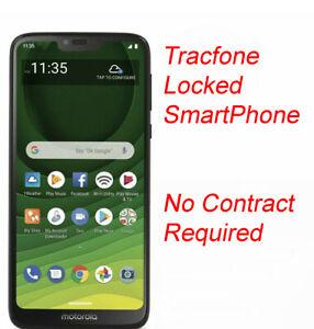 New Motorola Moto G7 Optimo Maxx XT1955 32GB 4G LTE Blue (TracFone) Phone