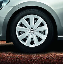 VW Satz Radzierblenden Radzierkappen 3G0071456  1ZX silber 16 Zoll