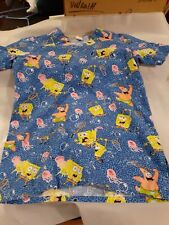 Womens Medical Scrub Top, Nickelodeon, size Xs