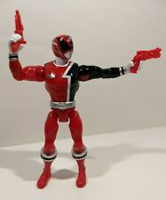 "Power Rangers Super Megaforce SPD RED RANGER Action Hero 5"" Loose Bandai"