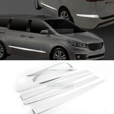 Chrome Side Skirt Accent Garnish Molding 6p for KIA 2015-2018 Sedona / Carnival