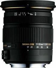 Objetivos con sigma para cámaras Sony