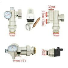 Blending valve water mixer for underfloor heating manifold