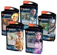 Mtg Magic the Gathering Core Set 2021 M21 All 5 Planeswalker Decks In Stock! Box