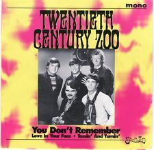 """New Arizona Garage Psych TWENTIETH CENTURY ZOO """"You Don't Remember"""" two more"""
