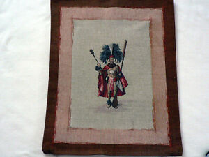 """French Tapestry Throw Pillow Cover 19"""" x 13"""""""