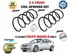 FOR MERCEDES C180 C200 C230 C220 CDI COUPE MODEL 2001-> 2X FRONT COIL SPRING SET