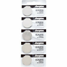 5 x Energizer CR2016, 2016 Lithium Watch Batteries