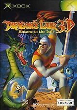 Dragon's Lair 3D: Return to the Lair (Microsoft Xbox, 2002) -- CIB