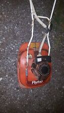 Vintage Flymo Hover Lawnmower 2 stroke runs.