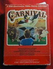 Carnival - Atari VCS 2600 Game - PAL - Sega / CBS - boxed incl manual