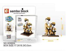 Exotic Animal Micro Sized Nano Block meerkat mini 141 pcs/blocks-New In Boxed
