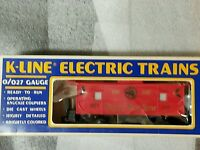 K-LINE #6123 HAPPY NEW YEAR LIGHTED CABOOSE TTOS W/ BOX