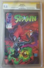 SPAWN #1 | CGC 9.6 | SS SIGNED BY TODD MCFARLANE, 1ST APP SPAWN