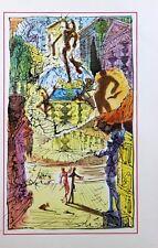 Salvador Dali Lithograph Illustration XII  1948