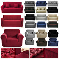 Luxury 1/2/3 Seater Soft Sofa Couch Slipcover Stretch Covers Elastic Protectors