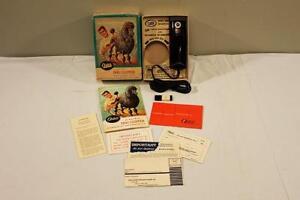 Oster Professional Electric Dog Pet Hair Clipper Model 95-II Box & Paperwork-BL