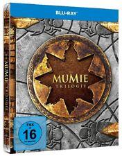 DIE MUMIE TRILOGIE (Brendan Fraser) 3 Blu-ray Discs, Steelbook NEU+OVP