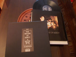 """Sisters of Mercy, The – Dominion-BOX Limited 12"""" VINYL MAXI"""