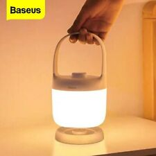 Baseus LED Night Light Portable USB Dimmable Bedside Babyroom Lamp Home Outdoor
