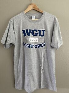 Western Governors University Unisex Size Small TShirt Night Owls