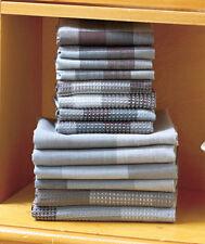Cotton Kitchen Towel Set 14 Pc Charcoal Cotton Dish Cloths & Dish Towels Woven