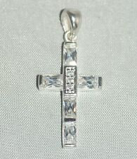 Crucifix / Cross Necklace  [ 925 Sterling Silver ] Pendant