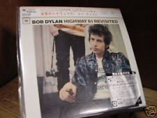 BOB DYLAN HIGHWAY 61 REVISITED JAPAN REPLICA EXACT TO ORIGINAL LP IN RARE OBICD