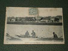 cpa 58 village de Nièvre Saint Léger des Vignes LE BAC 1905