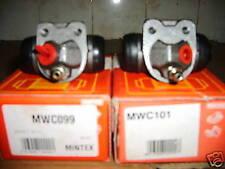 Brake wheel cylinder s Ren 9 11 Peugeot 309 PAIR mwc099 / 101 dba bendix no abs