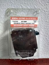 General Electric Circuit Breaker 40 Amp Double Pole 120/240 VAC THQP240