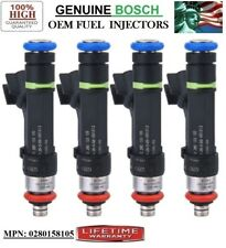 !Not for Hybrids! 2008 Mazda Tribute 2.3L I4 Fuel Injectors x4 Bosch #0280158105