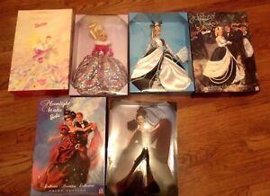 Lot of 3 Moonlight Barbie - Midnight & Starlight Waltz Ballroom Beauty