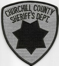 CHURCHILL COUNTY NV SHERIFF DEPT SO SD CO LOCAL STATE COUNTY