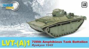 DRAGON 60424 LVT A 1 AMPHIBIOUS TANK 708th Battalion Ryukyus 1945 model 1:72nd
