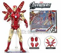 """ZD TOYS Armored MK85 Iron Man Avengers Endgame Marvel 7"""" Action Figure mark 85"""