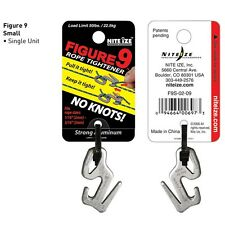 Nite Ize Figure 9 Rope Tightener Small Silver 22.5KG Rated F9S-02-09