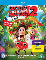 Cloudy With A Chance Of Meatballs 2 BLU-RAY NUEVO Blu-ray (sbrb1397uv)