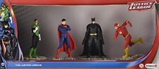 Schleich The Justice League 4x figure set Batman Superman Green Lantern Flash