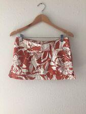 *** Roxy Floral Mini Skirt Size 3 ***