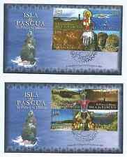 CHILE 2008 Isla de Pascua Easter Island Ile de Paque Moai Te Pito o te Henua FDC