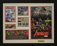 The Avengers Marvel Comics Limited Edition Framed Memorabilia (w)