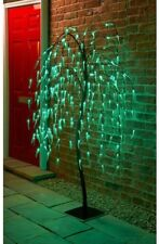 Outdoor Garden 5FT 240 LED Light Weeping Willow Tree with 8 Functions Christmas