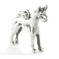 C-959 Orb Sterling Silver Great Dane Dog Charm