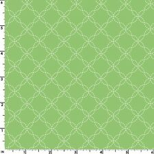 LITTLE ONE FLANNEL TOO Green Quilt Fabric by 1/2 yd Maywood Studio